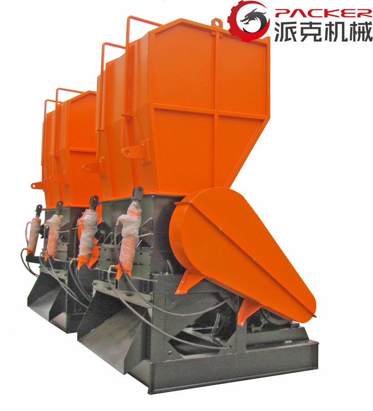 30kW Plastic Crusher Machine Rotating Diameter 450mm Inlet 800*600mm Optional Color