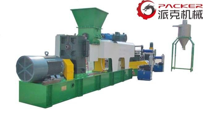 Industrial Plastic Granulating Line Automatically Working Hydraulic Screen Changer