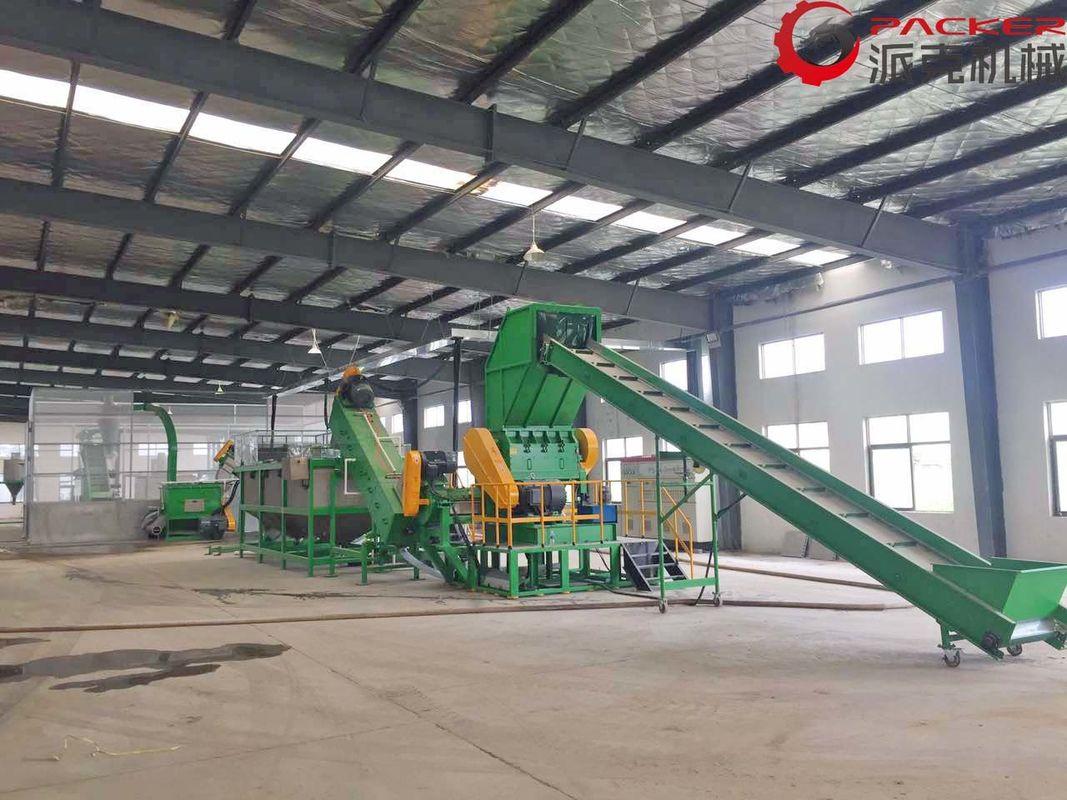 Durable Plastic Recycling Washing Plant , Washing PET Recycling Line 304 Stainless Steel